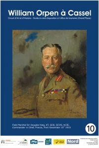 panneau émaillé William Orpen à Cassel N°10