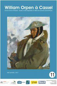 panneau émaillé William Orpen à Cassel N°11