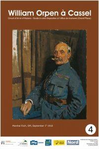 panneau émaillé William Orpen à Cassel N°4
