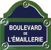 Enameled road signs - Manufacture Vosgienne d'Émaillage
